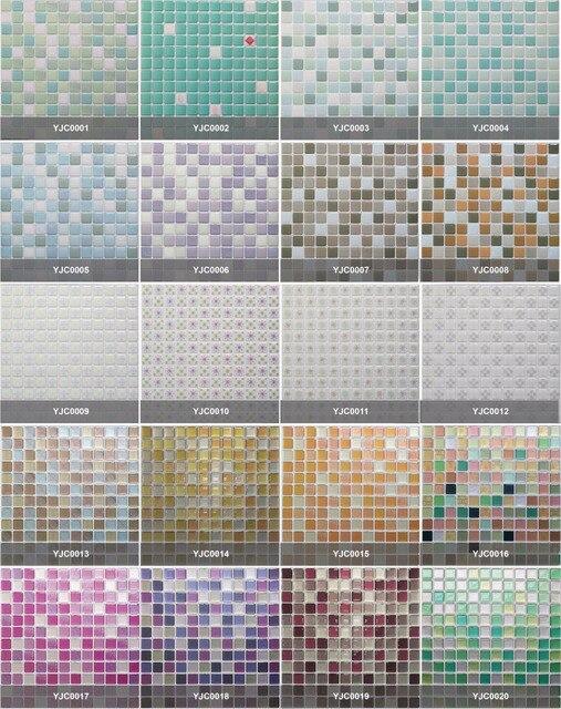 Autocollants mosaïque 3D imperméables | Pour salle de bain, cuisine, rétro-adhésif, mur de maison, rénovation carrelage, papier peint en brique, 10 pièces/lot