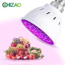 CHIZAO Led Grow Lamp Phyto Lamp E14/E27/GU10/MR16 Light Led For Plant 220V 110V Grow Light Red Blue For Plants Growth Phyto Lamp