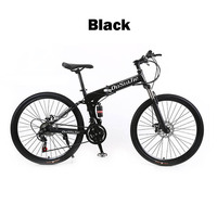 21 24 27 Three Speed Mountain Bike 26 Inch High Quality Folding Double Disc Double Damping