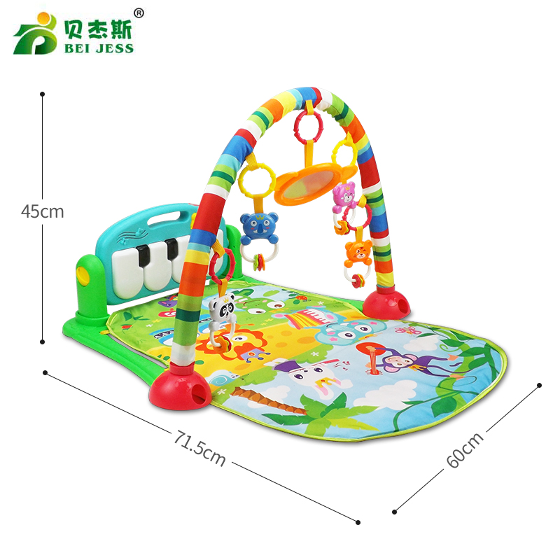 BEI-JESS-Baby-Carpet-3-in-1-Multifunctional-Piano-Develop-Crawling-Musical-Play-Mat-Child-Education-Racks-Toy-5