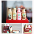 Cute Mini 4 Bottles of Frappuccino Coffee Drinks 1/6 Play Dollhouse Miniature Doll Food Toy for Pullip Blyth Doll