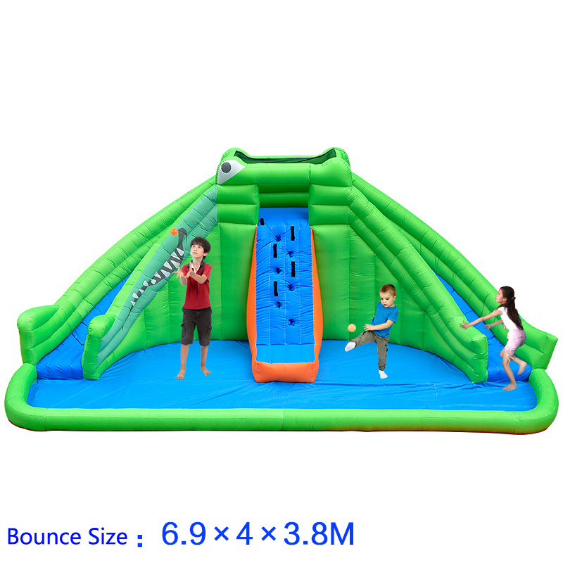 Activity & Gear Swimming Pool & Accessories Inflatable Paly Pool For Kids Water Paly Children Water Slide Toy Best Birthday Party Gifts 100% High Quality Materials