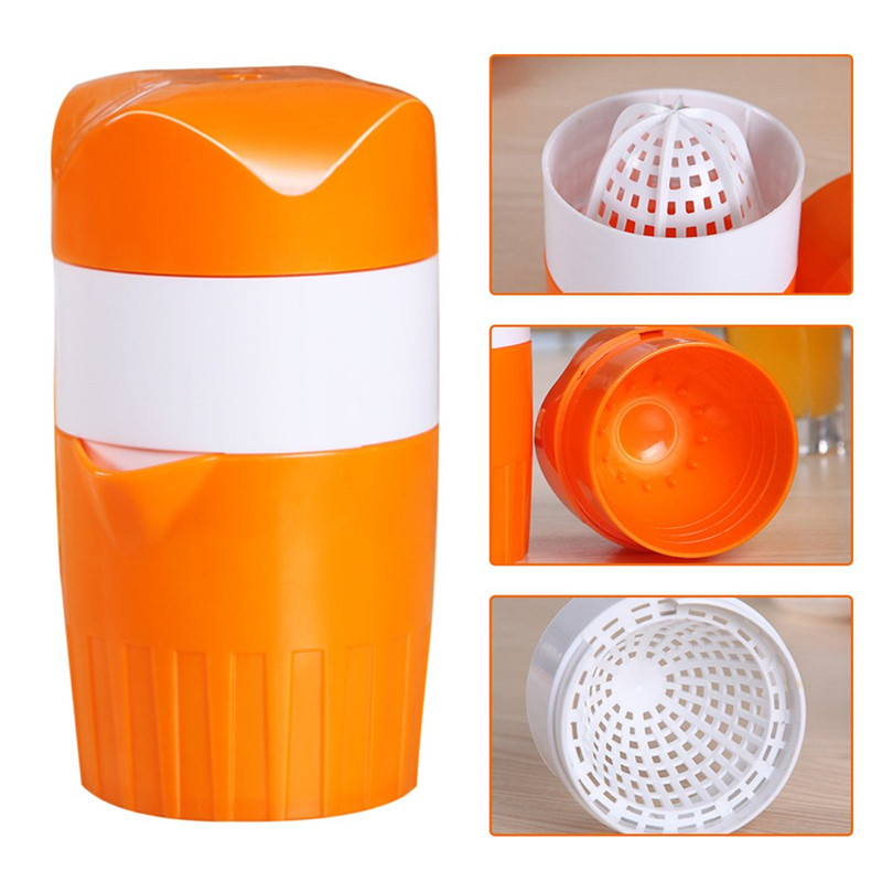 Hand Press Juicer Tool Household Manual Juicer Juice Bottle Mini Travel Small Fruit Squeezer Machine Extractor Hand Press Cup stainless steel manual sugarcane juice machine sugar cane machine cane juice squeezer cane crusher