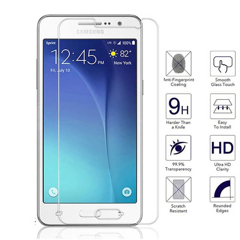 2.5D Protective Glass on For Samsung Galaxy S3 S4 S5 S6 J3 J5 2015 Tempered Glass Screen Protectors film For Samsung A3 A5 2016