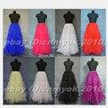 New Style 8 Colors Tulle Long Floor Length A-line Wedding Gown Petticoat Underskirt Full Slip 2016NEW-051