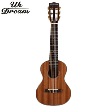 28 Inch Classic 6 Strings 18 Frets Classical Knob Guitar Full Sapele Wooden Guitar guitarra musical instrument Acoustic Guitar zebra 38 inch wooden folk guitarra acoustic electric bass guitar 6 strings ukulele with case bag for musical instrument lover