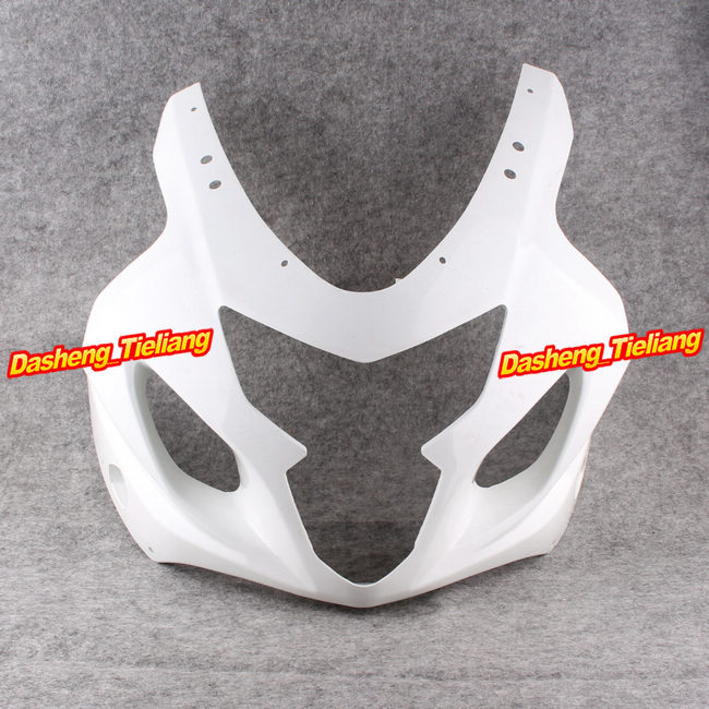 Upper Front Cover Cowl Nose Fairing for Suzuki GSXR 600 750 2004 2005 K4 GSXR600 GSXR750, Injection Mold ABS Plastic, Unpainted lowest price fairing kit for suzuki gsxr 600 750 k4 2004 2005 blue black fairings set gsxr600 gsxr750 04 05 eg12