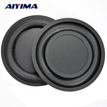 AIYIMA 2 pièces 6.5 pouces renforcer basse Vibration plaque Membrane radiateur passif vibrant diaphragme haut-parleur basse radiateur