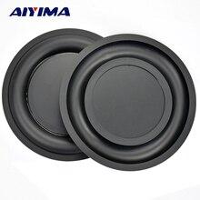 AIYIMA, 2 uds., membrana de placa de vibración de bajos reforzada de 6,5 pulgadas, radiador pasivo, vibrador, altavoz con diafragma, radiador de bajos