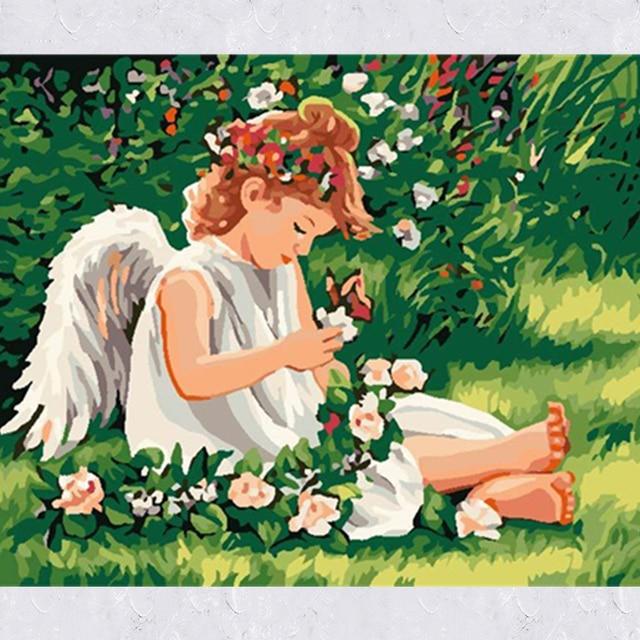 Us 1341 10 Offkreative Diy Malen Nach Zahlen Mit Hohe Qualität Acryl Farbe Wand Bilder Für Kinderzimmer Kind Geburtstag Handwerk Geschenk In