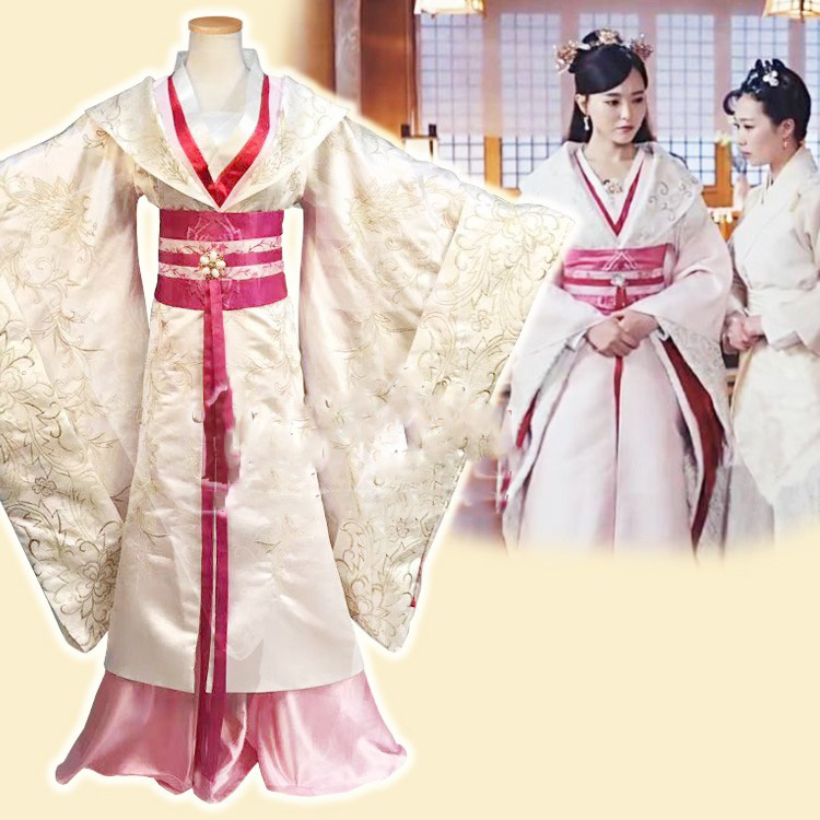 Tang Yan Same Design Aesthetic Hanfu Costume for Newest TV Play The Princess WeiYoung Women's Hanfu Stage Performance Costume