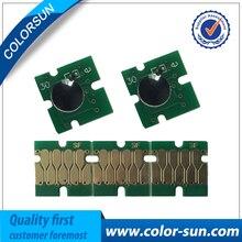 5 unids para epson t3200 t5200 t7200 uno virutas de tiempo para epson t3000 t5000 t7000 chip compatible para los cartuchos de tinta t6941-t6945