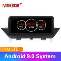Android 9.0 car radio multimedia player for BMW X1 E84 2009-2015 with 8cores 4GB RAM 64GB ROM 4G SIM LTE wifi BT IPS screen