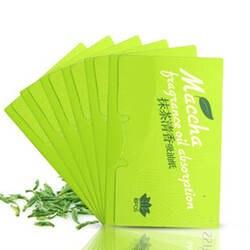 100 листов/упаковка тканевая бумага s зеленый чай запах Макияж очищающее масло поглощающая бумага для лица впитывает впитывающий для лица