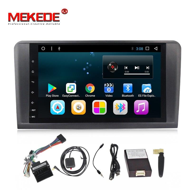 HD 9''Car Android 7.1 Car DVD GPS Player For Mercedes Benz ML W164 W300 ML350 ML450 ML500 GL X164 G320 GL350 GL450 GL500