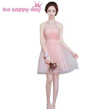 c34a2bb4b6c Дешевые светло-розовые скромные короткие милые 16 простые красивые  винтажные кружевные и тюлевые Бальные платья