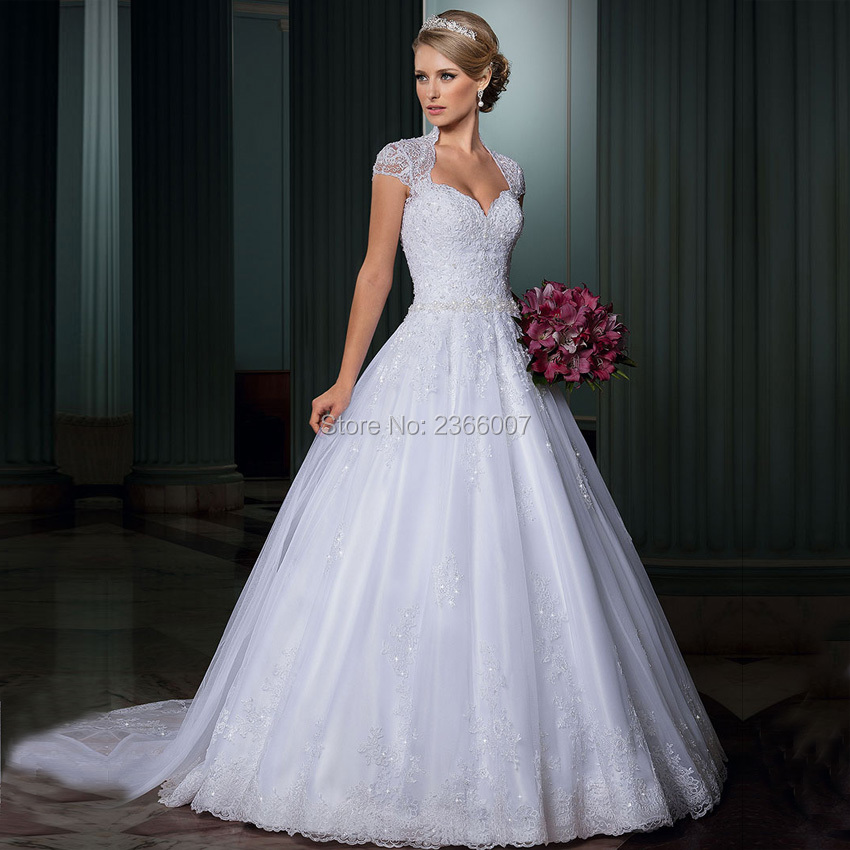 Buy Used Wedding Gowns: Aliexpress.com : Buy Vestidos De Noiva Luxury Lace A Line