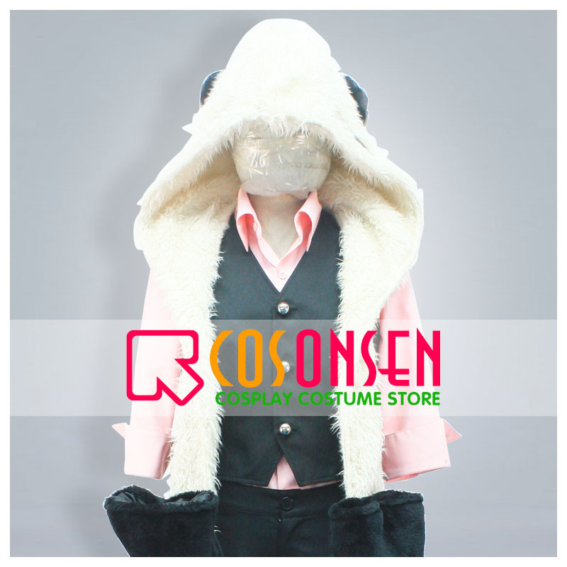 COSPLAYONSEN UN-GO Inga Cosplay Costume Full Set All Size Custom Made