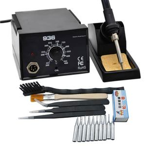 Image 5 - Newest Strong power High Quality 600W  936 Soldering Station Electric Solder Iron    with tips for BGA solder station
