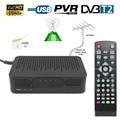 Размер мини DVB-T2 DVB-T FTA HD Цифрового Наземного Сигнала Тюнер ПРИЕМНИК КОНВЕРТЕР 1080 P TV Set Top BOX HDMI USB PVR воспроизведение