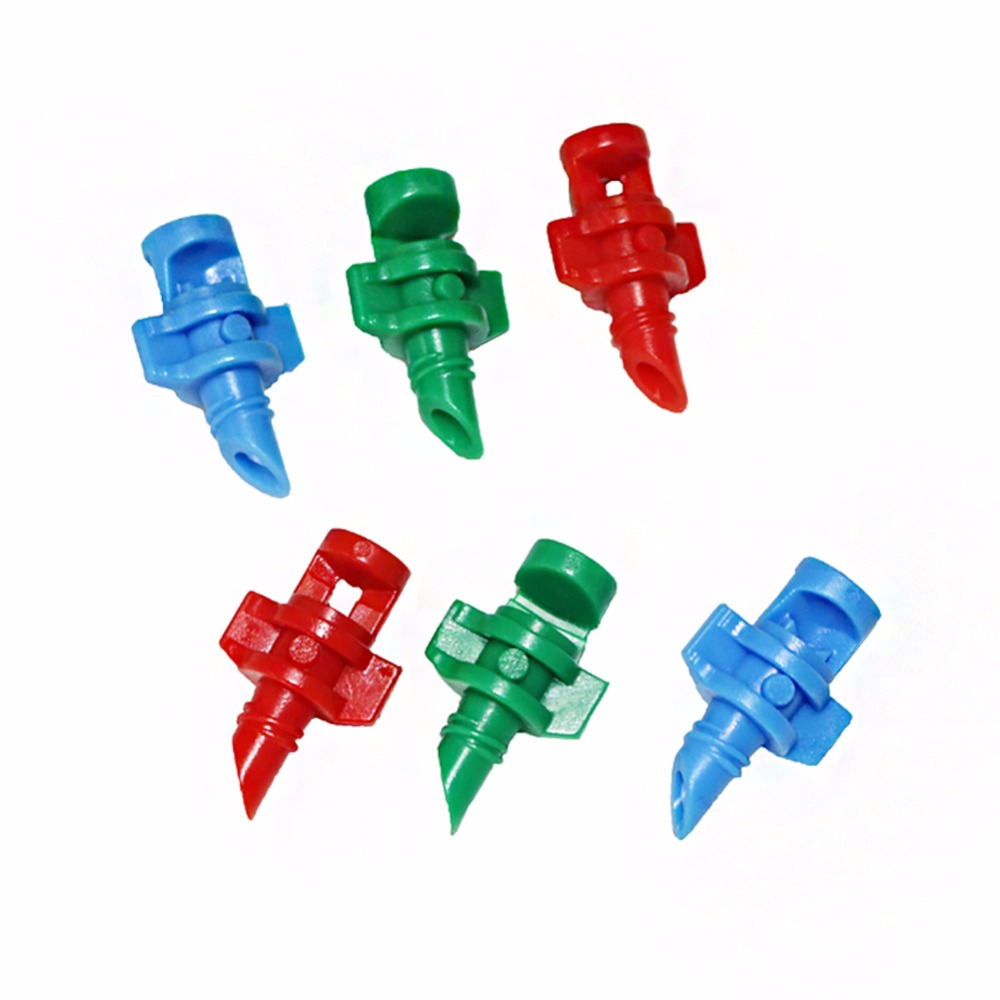 30 Pcs Nozzle Green 180 Degrees/red 360 Degrees. For Cloning Machine Hydroponic Garden Watering Systems Refraction Atomization