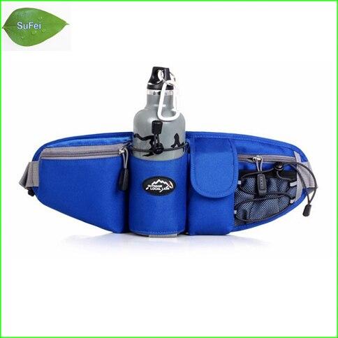 WF04 Bolso de la Cintura Deportes Hombres Mujeres Al Aire Libre Botella de Agua