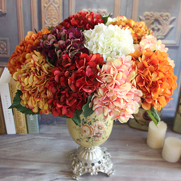 Buy red silk flower arrangements and get free shipping on aliexpress mightylinksfo Gallery