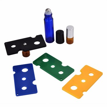 100  X Free shipping Colorful Essential Oil Opener Key Tool Remover For Roller Balls and Caps Bottles Green Black Blue Yellow