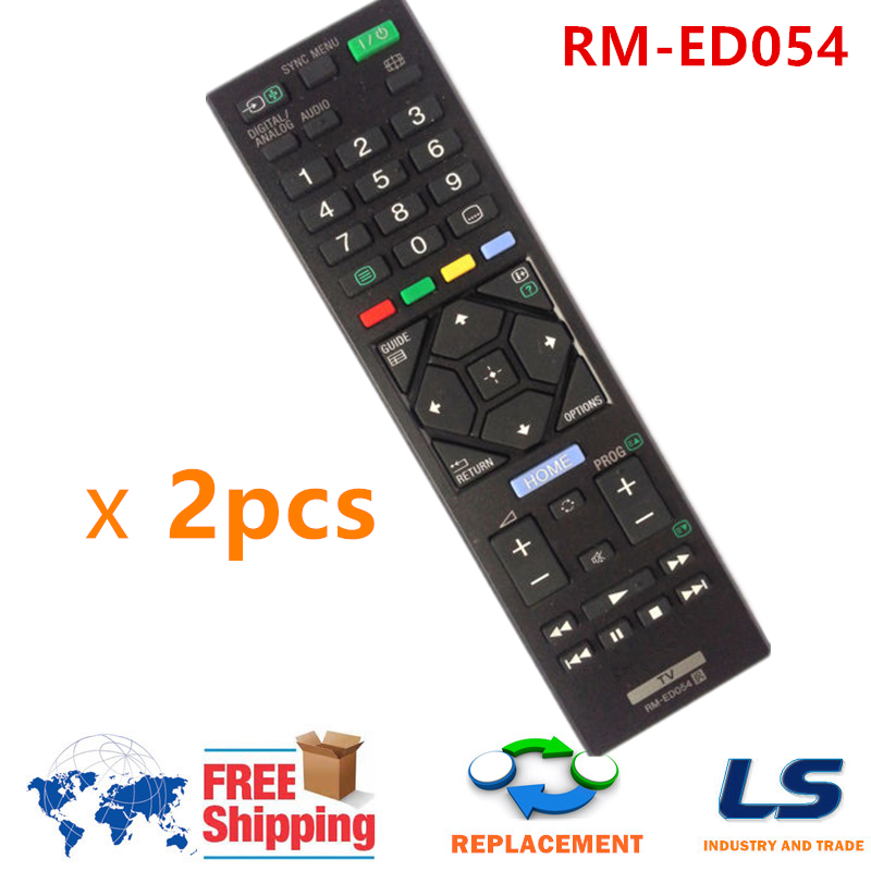 Replacement Remote Control RM-ED054 RM-ED062 Fit For Sony TV KDL-46R470A KDL-32R420A KDL-46R473A KDL-32R420A KDL-32R423A image