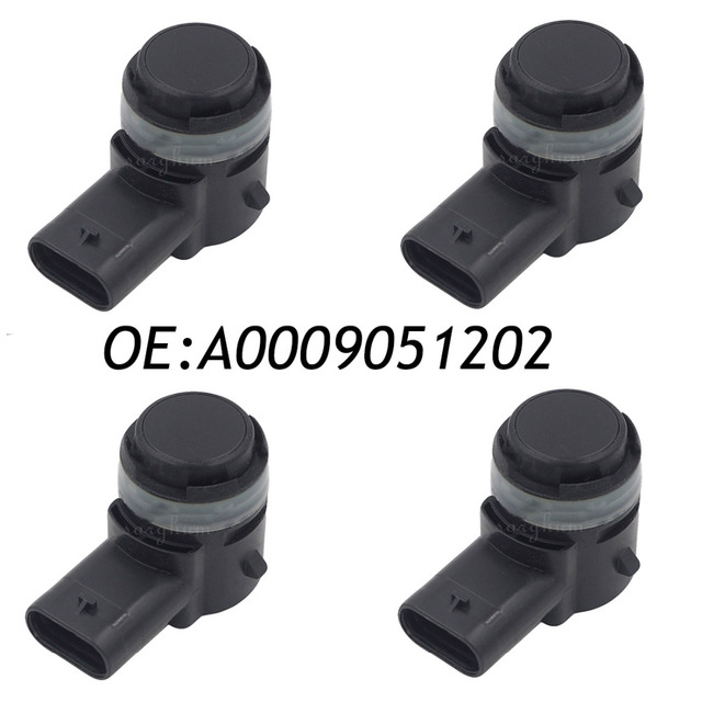 4PCS A0009051202 Ultrasonic Parking Sensor PDC For Mercedes Benz W156 W205 W207 W212 C218 W222