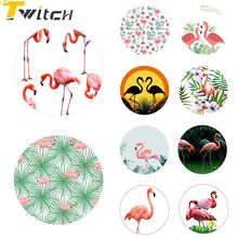 Twitch Fashion Marble Flamingo Phone holder Universal Finger Ring holder POP Smart Phone Stand For iphone