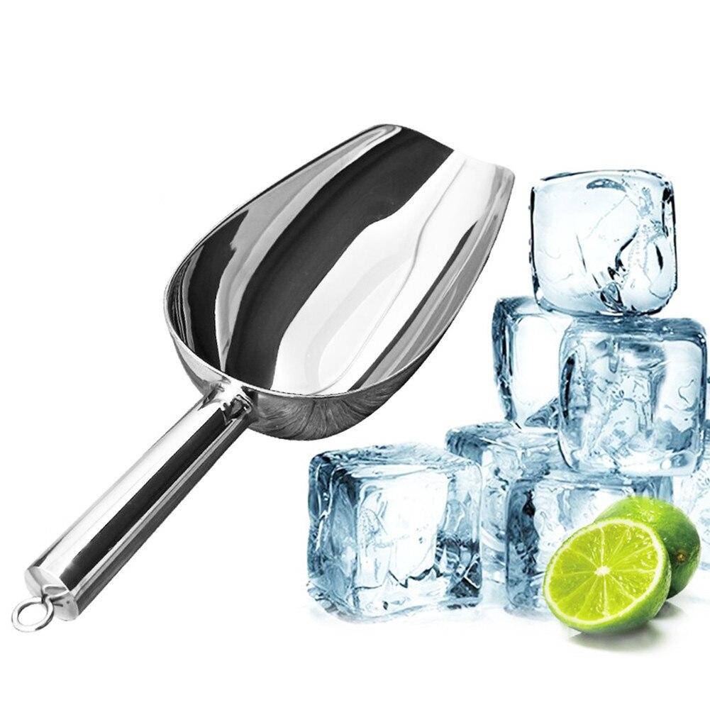 Best качество 5-размеры Алюминий бар ice совок сухой бен сухой Товары конфеты spice лопатой