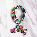 Fashion Jewelry Long Beads Chain Hip Hop Round Charm Pendant Necklace NOMONEY Good Wood Hiphop Necklace Jewelry