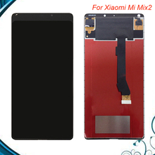 100% Tested OK Original 2160*1280 For Xiaomi Mi Mix 2 LCD Display + Touch Screen Assembly Replacement for mix2 lcd Black White test ok original lcd display touch screen digitizer assembly for meizu 2 mx2 mx 2 m040 black white free shipping tracking code