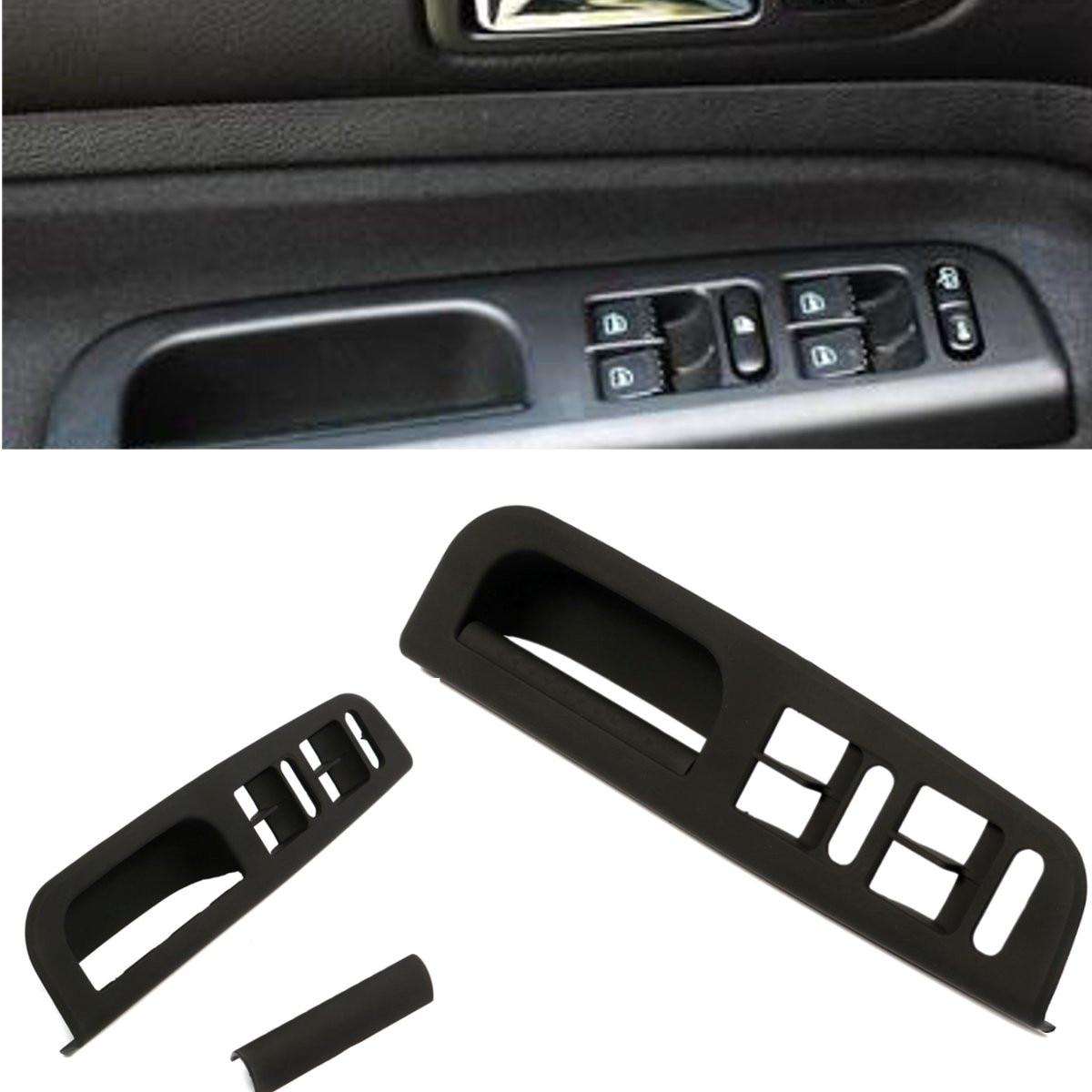 New switch bezel with handle trim auto car window for vw jetta golf mk4 passat b5 interior door for Vw jetta interior replacement parts