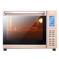 DMWD 1600W 33L Home Electric Ovens Pizza Maker French Fries Toast Barbecue Dessert Baking Machine 6 Heating Tubes 12 Menus 220V