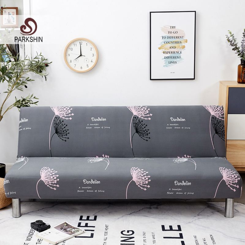 Image 1 - Parkshin Dandelion All inclusive Folding Sofa Bed Cover Tight Wrap Sofa Couch Cover Without Armrest housse de canap cubre Sofa-in Sofa Cover from Home & Garden