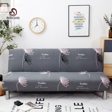 Parkshin Funda de sofá cama plegable de diente de león, cubierta de sofá envolvente, cubierta de sofá sin reposabrazos