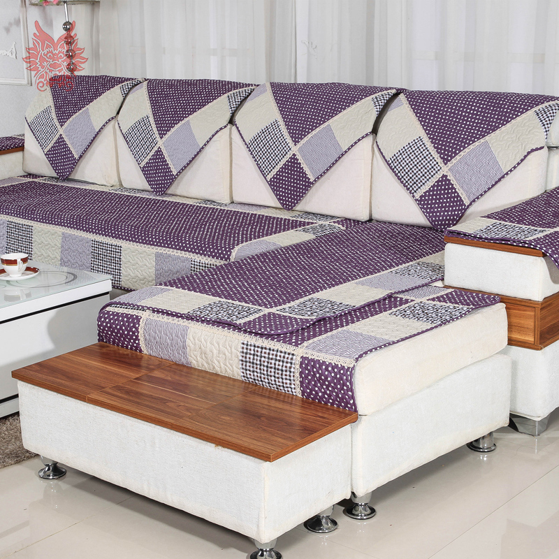 Plaid sectional sofa promotion shop for promotional plaid - Plaid para sofa ...