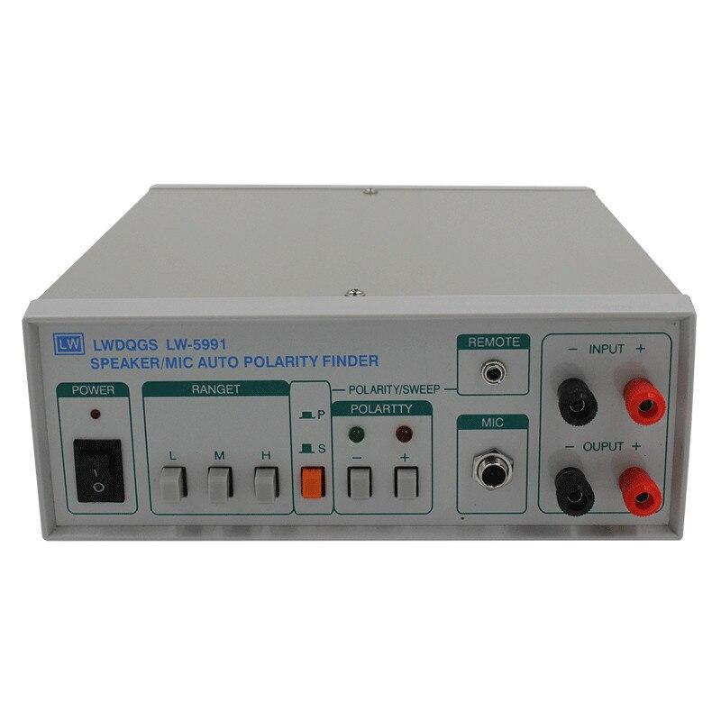 Testeur de polarité de Microphone Original haut-parleur d'impulsion de détecteur de polarité automatique de haute précision/micro offre spéciale de mesure de laboratoire automatique