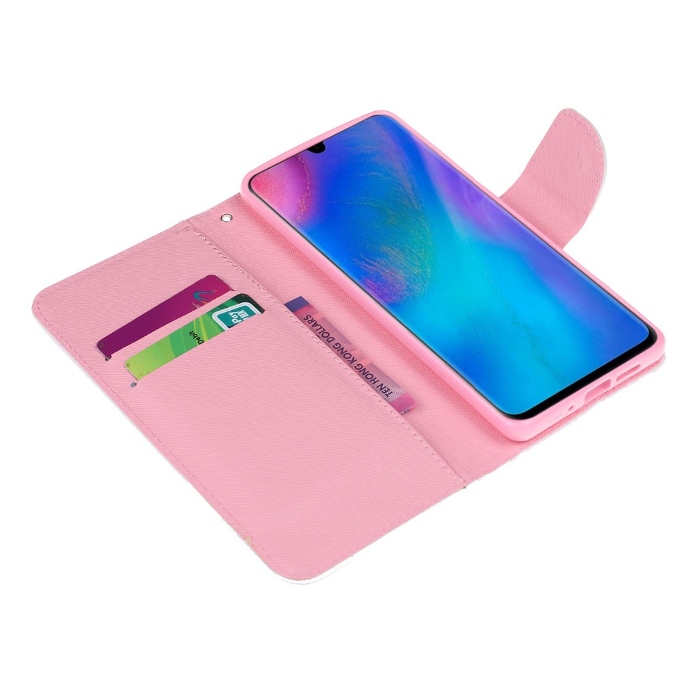 P30 Pro Leather Cases Cover on for Fundas Huawei P30 P30 Pro Case sFor Coque Huawei P30 Case Flip Wallet Cover Stand Phone Bag in Flip Cases from Cellphones Telecommunications
