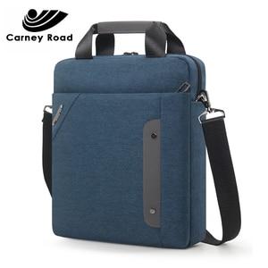 Image 5 - carneyroad Business 13 Inch Ipad Men Messenger Bag High Quality Waterproof Shoulder Bag Oxford Casual Men Crossbady Bag 2019