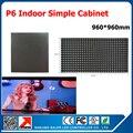 P6 крытый из светодиодов жк-модуль экран дисплея / матрица RGB полноцветный P6 из светодиодов панель простой кабинет крытый из светодиодов видео кабинет