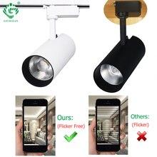купить Track Light LED 30W COB Rail Spotlights Lamp Fixture Spot Lights Bulb for Store Shop Mall Exhibition Ceiling Spots lighting по цене 252.11 рублей