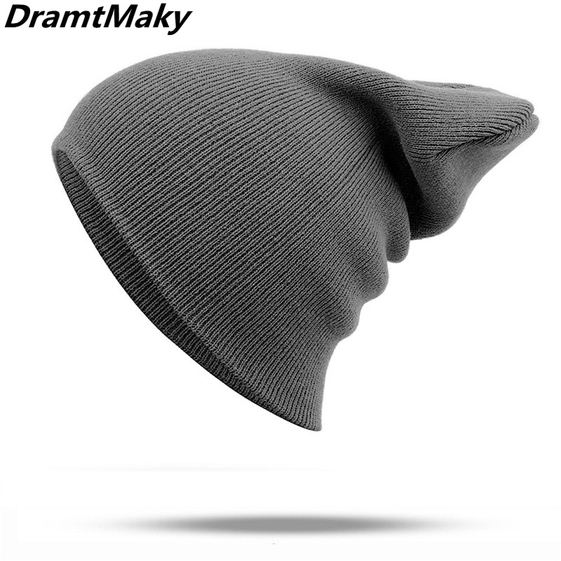 04c87540fe6a1c Winter Hats for Woman Men hat New Beanies Knitted Solid Cute Hat Girls  Autumn Female Beanie