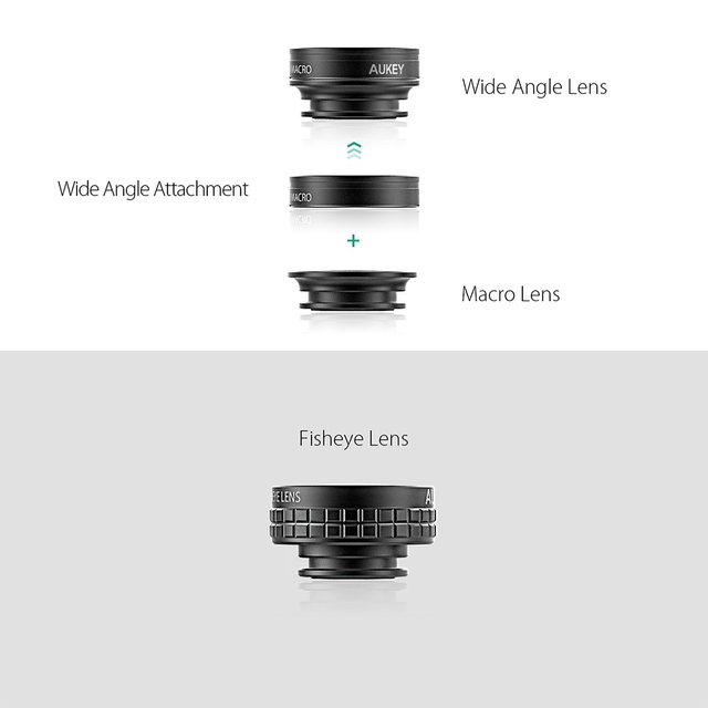 Fish Eye Lens For Smartphone Camera