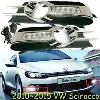 2011 2015 VW Scirocco Daytime Light Free Ship LED VW Scirocco Fog Light 2ps Set VW