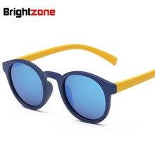 Новый шаблон TR90 детей Очки тенденция поляризованный свет Солнцезащитные очки для женщин мужской девушка восстановление древних способов Солнцезащитные очки для женщин Óculos De Sol Gafas