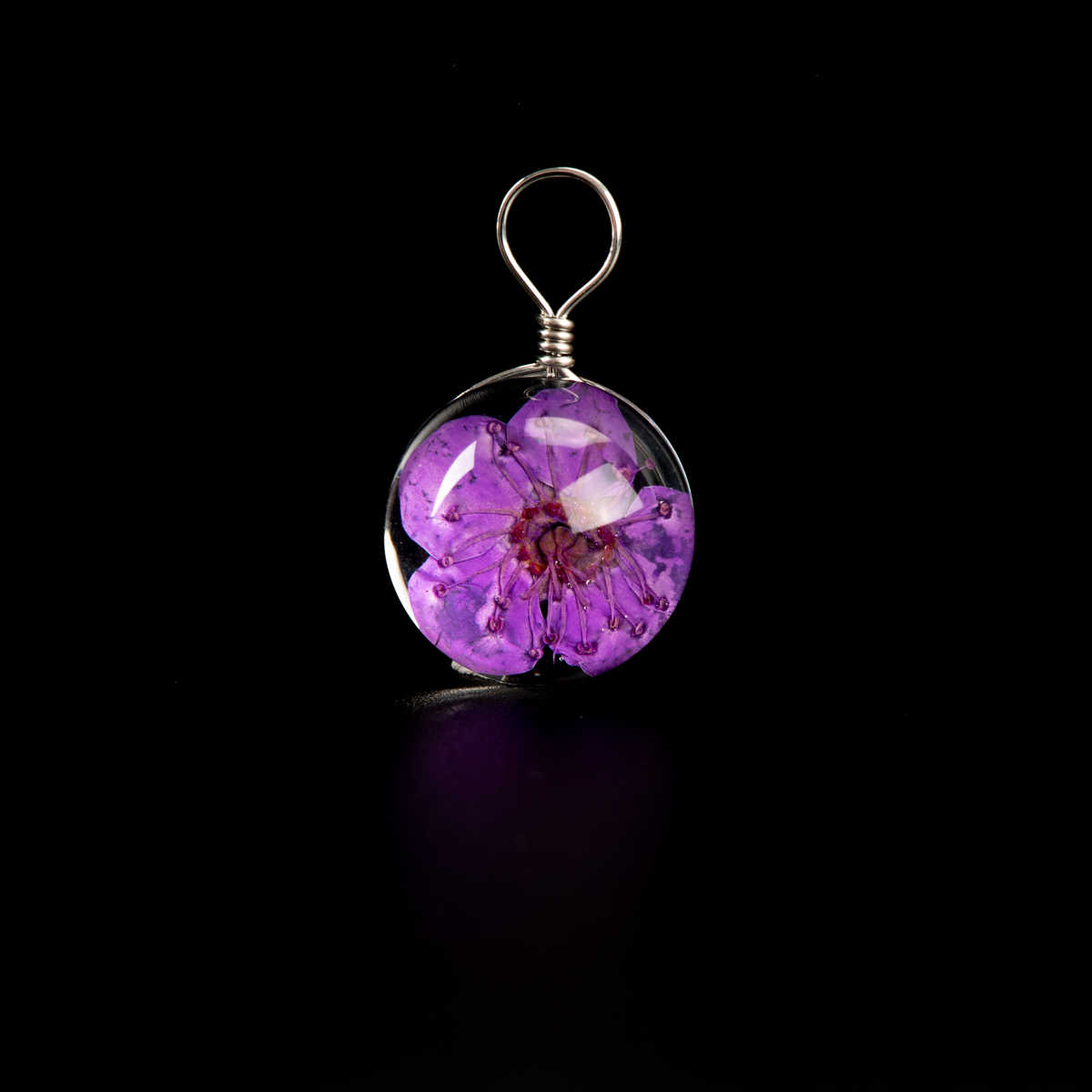 בעבודת יד פרח זכוכית חרוז תכשיטי לא טבעי אבן DIY עגילי צמיד קולר תכשיטי ביצוע חרוזים # IZ114