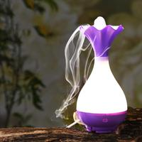 Jade Net Bottle Humidifier Aroma Essential Oil Diffuser Aromatherapy Mini Night Light USB Humidifier Mist Maker